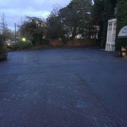 Tarmac car park surfacing Barton
